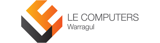 LE Computers Warragul Logo